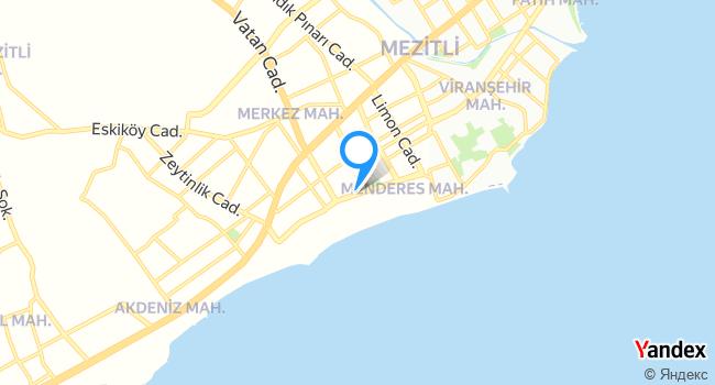 Liparis Parkı haritadaki yeri görseli