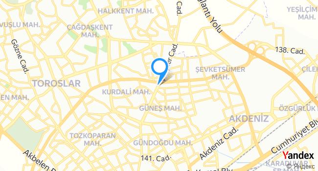 Arpaç Koop haritadaki yeri görseli