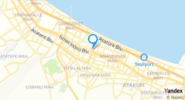 Et Atölyesi Kebap & Steak House haritadaki yeri görseli