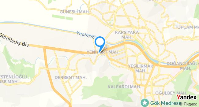 Meşhur Adana Kebapcisi Ceyhanli Alibusta haritadaki yeri görseli