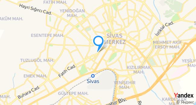 Cevher Taksi 7/24 haritadaki yeri görseli