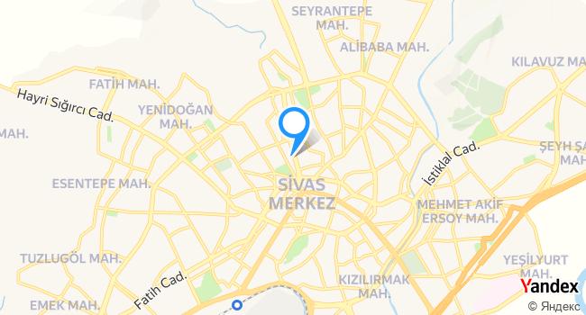 Köşk Taksi 0535 527 62 72 haritadaki yeri görseli