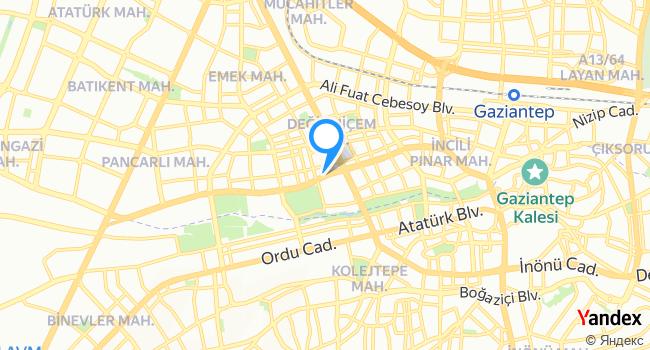 Özkan Kebab haritadaki yeri görseli
