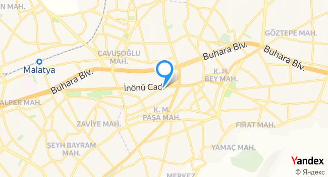 Kavurmacım haritadaki yeri görseli