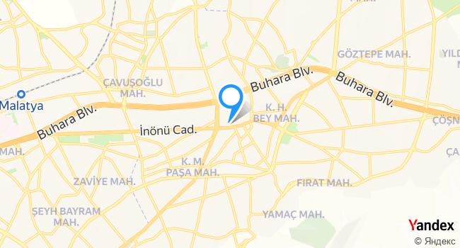 Bizim Terzi haritadaki yeri görseli