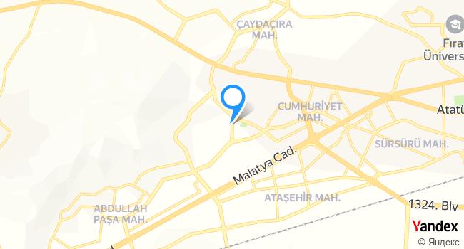 Gül Mutfağı haritadaki yeri görseli