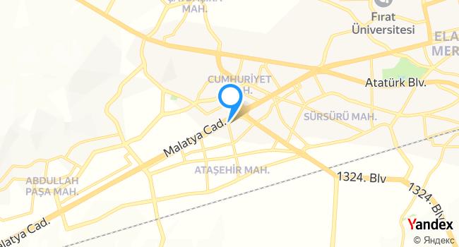 HayalEt Kebap House haritadaki yeri görseli