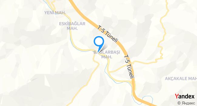 Altanin Pide Salonu haritadaki yeri görseli