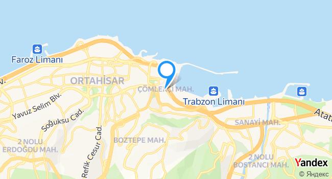 OFLULAR Dolmuş Durağı (Trabzon-Of) haritadaki yeri görseli