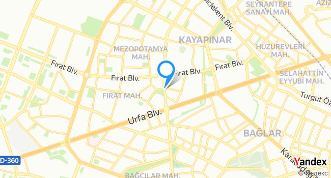 Isot çiğköfte sarayi haritadaki yeri görseli