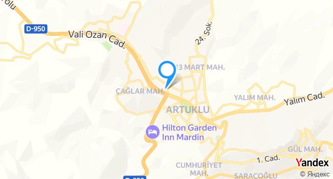 The Dux MARDİN haritadaki yeri görseli