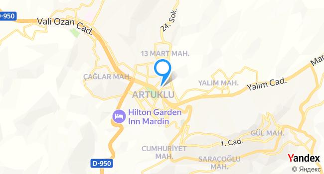 Mardin Ocak Başı haritadaki yeri görseli