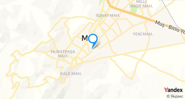 VİP MUŞ BİRLİK TURİZM haritadaki yeri görseli