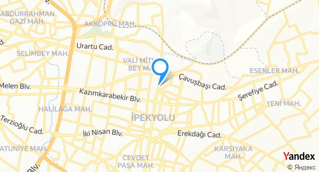 Polo Mood haritadaki yeri görseli