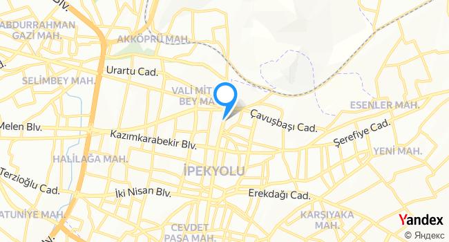 Terzi Niyazi haritadaki yeri görseli