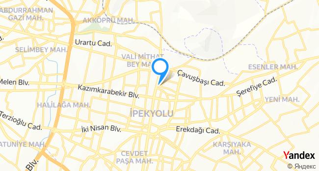 Esen Döner haritadaki yeri görseli
