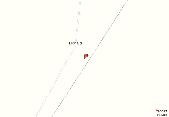 Donald haritadaki konumu