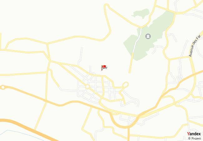 Tetouan haritadaki konumu