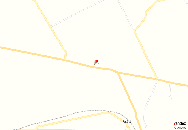 Gap haritadaki konumu