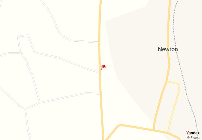 Newton haritadaki konumu