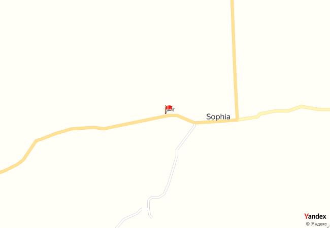 Sophia haritadaki konumu