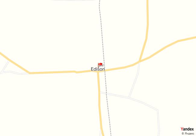 Edison haritadaki konumu