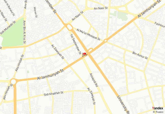 Tripoli haritadaki konumu