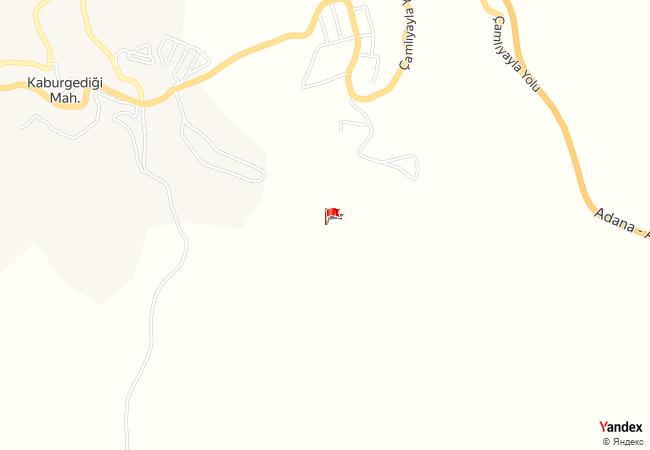 Tarsus, Kaburgediği haritadaki konumu