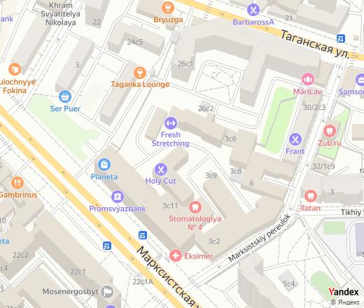 Марксистская улица, 24 москва московская область россия.