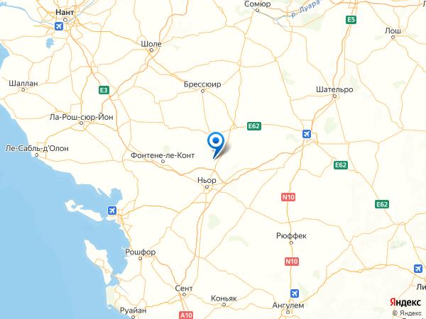 Жермон-Рувр на карте