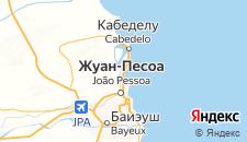 Отели города Кабеделу на карте