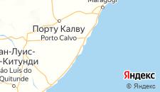 Отели города Порту-ди-Педрас на карте
