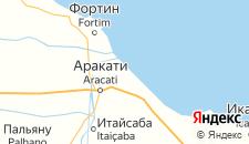 Отели города Каноа-Кебрада на карте