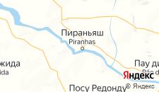 Отели города Пираньяс на карте