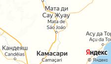 Отели города Мата-ди-Сан-Жуан на карте
