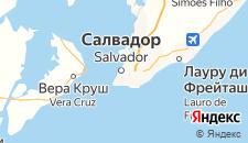 Отели города Сальвадор на карте