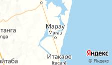 Отели города Марау на карте