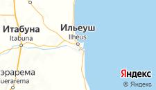 Отели города Ильеус на карте