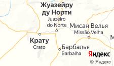 Отели города Жуазейру-ду-Норти на карте