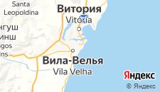 Отели города Вила-Велья на карте