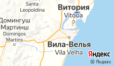 Отели города Кампу-Гранде на карте