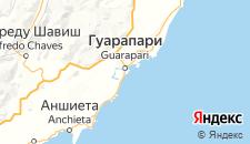 Отели города Гуарапари на карте