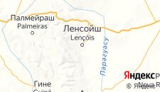 Отели города Ленсойс на карте