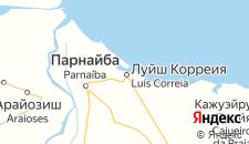 Отели города Луис-Коррея на карте