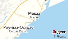 Отели города Макаэ на карте