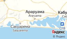 Отели города Араруама на карте