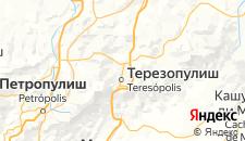 Отели города Терезополис на карте