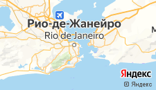 Отели города Рио-де-Жанейро на карте