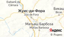 Отели города Жуис-ди-Фора на карте