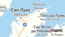 Отели города Лумиар на карте